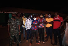 The intercepted migrants were journeying to Sunyani to engage in farming and trading activities