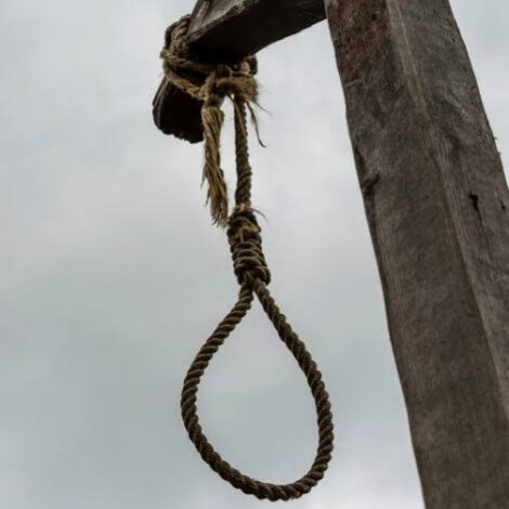 klling by hanging or suicide