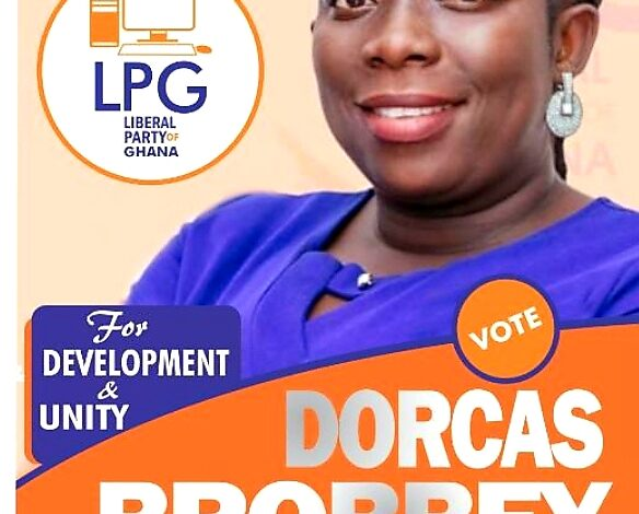 Docars Brobbey vows to unseat Incumbent MP on the Ticket of L.P.G 1