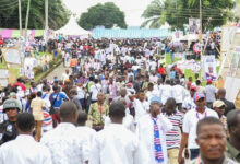 Photo of Angry NPP supporters lock up ECG office over 'dumsor' at Bawumia event