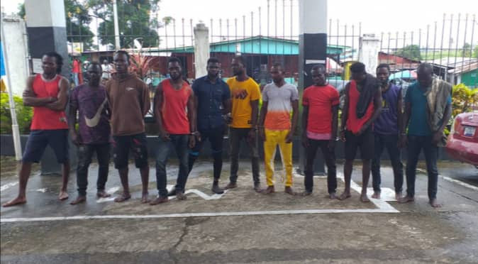 11 Ghanaian illegal miners arrested in Liberia 1