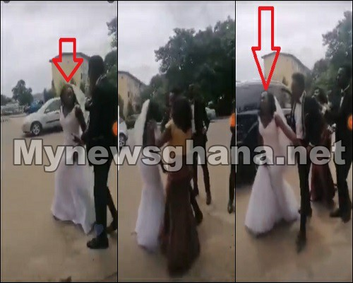 Watch Video: Bride Runs Away From Church After Finding Out Her Husband Slept With Her Best Friend On Their Wedding Day 1