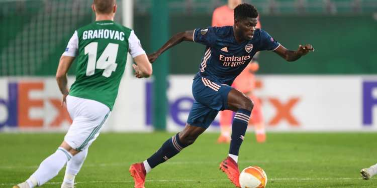 Partey to miss Arsenal's trip to Leeds on Sunday 1