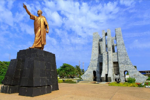 The Kwame Nkrumah Memorial Park is final resting place of the first president