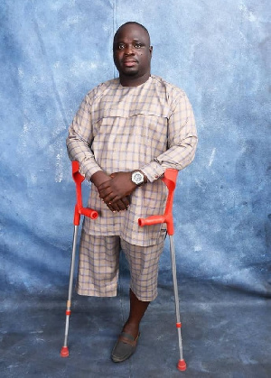 Meet the physically challenged minister to serve under Akufo-Addo 1