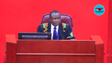 NDC petitions Bagbin to expel First Deputy Speaker from Parliament 2