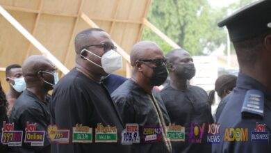 Rawlings' mass: Mahama leads NDC delegation [Photos] 3