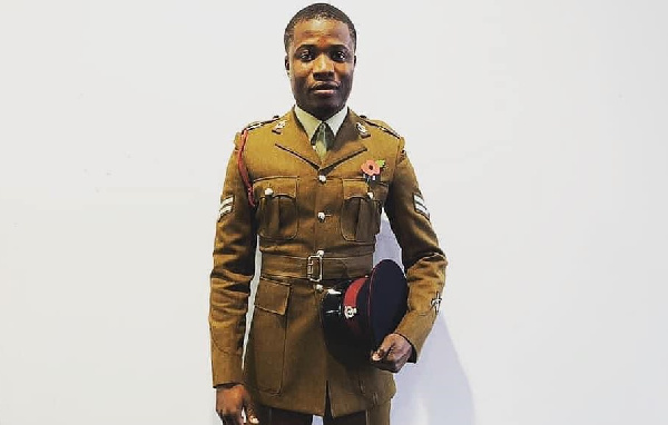 Ghanaian born British soldier who insulted Akufo-Addo over NAM 1 arrested for fraud 1