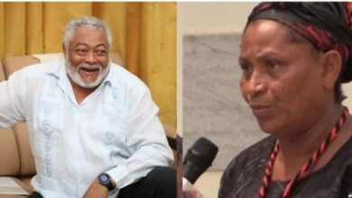 Alleged 52 years Old Woman Who Claims To Be The First Daughter Of Late J.J Rawlings Surface Online 1