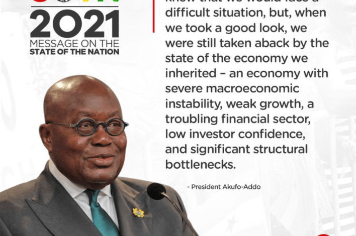 SONA: All Akufo-Addo's speech in infographics 1