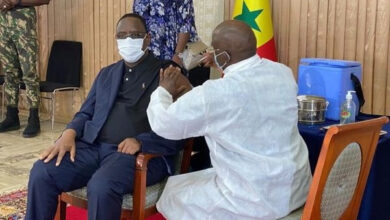 Senegal president takes coronavirus shot on live TV 4