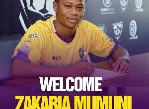 Zakaria Mumuni is a new player for Medeama SC
