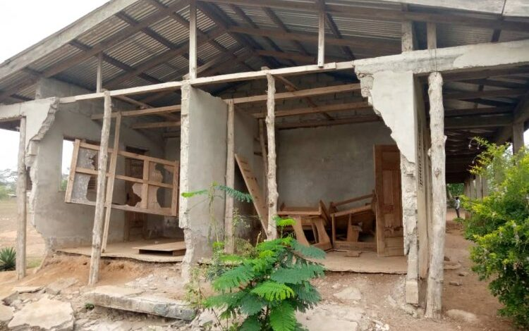 Goka Presby Primary KG block turns death trap, Assembly Member calls for intervention 1