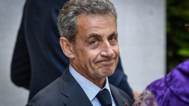 Former French president sentenced to jail for corruption 1