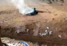 Mob sets young man ablaze in for allegedly stealing 28 cedis (photos) 30