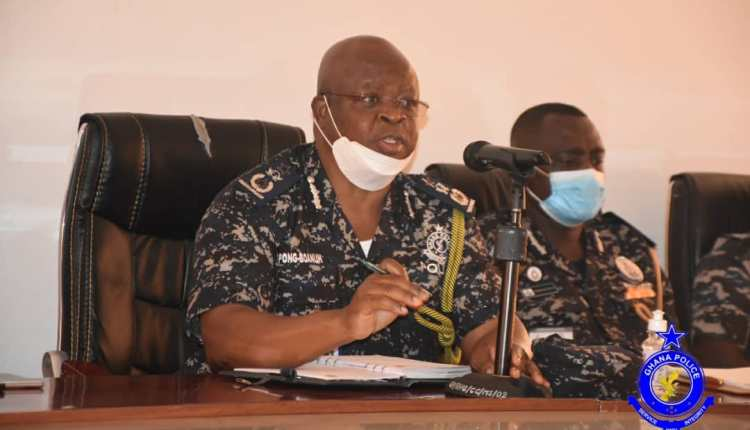 Inspector-General of Police James Oppong-Boanuh,