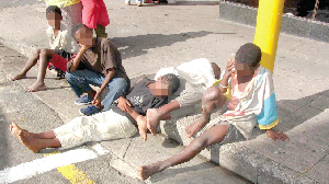 File photo: A picture of some children on the street