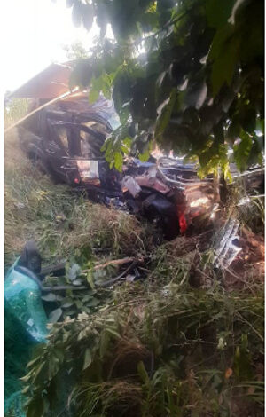 Driver dead-12 others injured in gory accident at Obuasi Brahabebome
