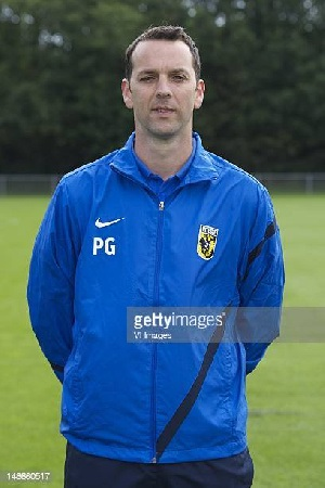 Patrick Greveraars, second assistant coach of the Black Stars