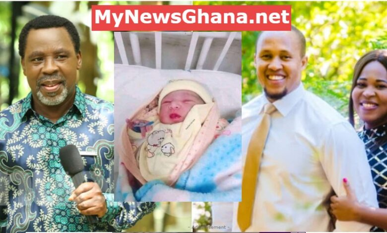 TB Joshua's daughter gives birth to baby boy on father's birthday